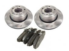 LAND ROVER DISCOVERY 2 - NEW FRONT BRAKE DISCS AND BRAKE PAD SET
